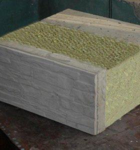 Кремнегранитные блоки теплоблоки полиблоки
