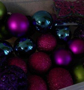 Елочные игрушки ( шары)