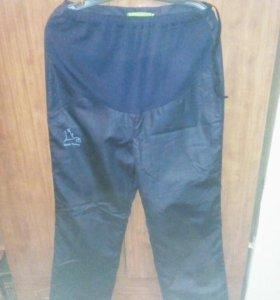 Спортивные брюки утепленные для беременных 48 разм