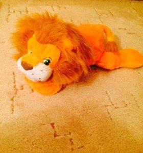 Львёнок игрушка