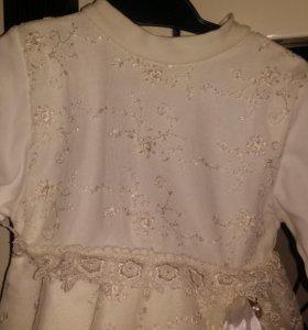 Праздничное платье для девочки р.74