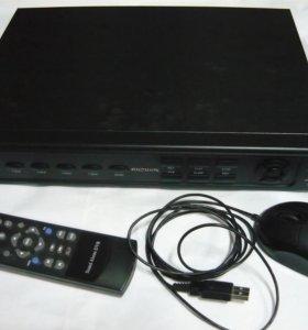 Видеорегистратор цифровой 4-х канальный PVDR-0477