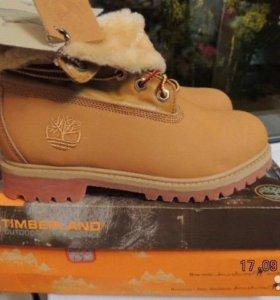 Зимние ботинки timberland 39 размер