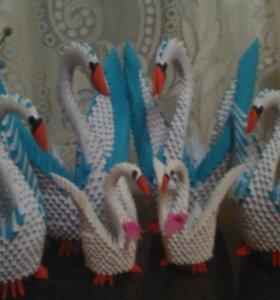 Арегами лебеди
