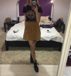 Замшевая юбка Monki