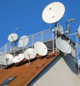 Настройка спутниковых аннтен