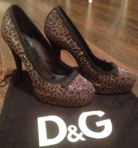 Туфли D&G