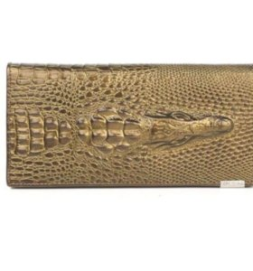 Новый кошелек крокодил натур.кожа🐊