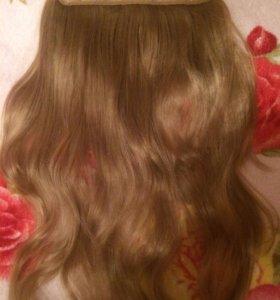 Волосы на типсах