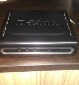 Модем DSL-2500U D-Link