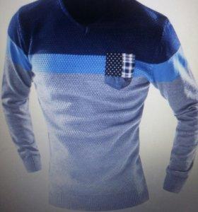 Продам новый муж.свитер!!!