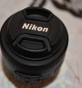 Объектив Nikon 35мм 1.8G