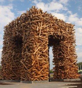 Дрова колотые в центре Перми с доставкой