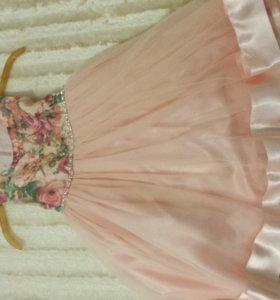 Новогодние платье роз-1200 бел-800