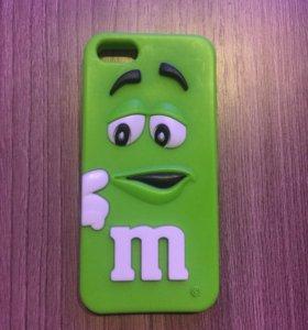 Чехол для iPhone 5/5s(селиконовый)