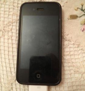 iPhone 4s чёрный 16 гб