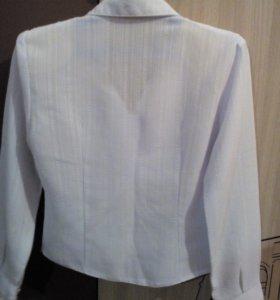 Школьная блузка рост. 120