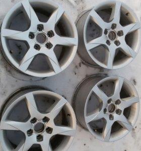 Диски литые AUDI A6 R16 Оригинальные