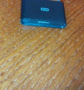 Переходник с micro USB на айфон 4