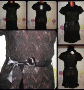 Платья ажурные, новые