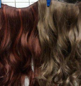 Однорядные волосы накладные