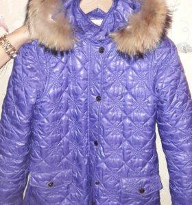 Куртка осень-весна на девочку