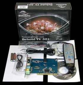 Телевизионный PCI тюнер Beholder
