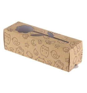 Коробка для макарун (котику)