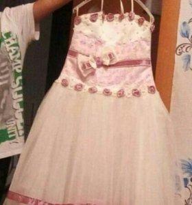 Бальное платье от 4-7лет