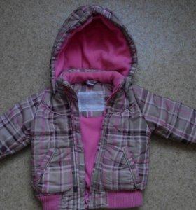 Куртка на девочку осень/весна
