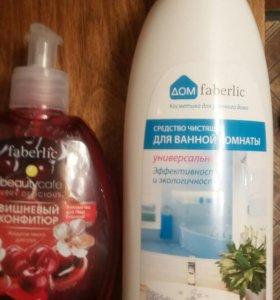 Средство для ванн, в наличии, мыло 85