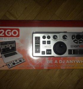 Dj-контроллер ION Dj-2go