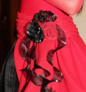 Платье латина, Ю-1,для спортивных бальных танцев