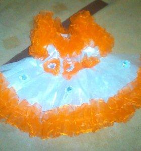 Платье на 1-2 годика.