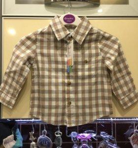 Новая рубашечка с этикеткой.