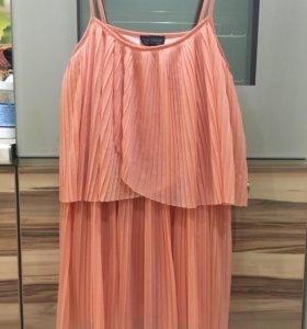 Туника/платье мини 44р