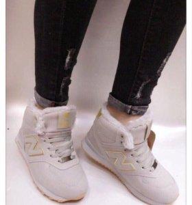 Новые зимние кроссовки размер 37