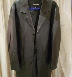 Мужское кожаное пальто. Торг возможен😉