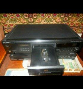 Cd проигрыватель Sony cdp-xe800