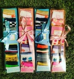 Носочки в подарочной упаковке 6пар