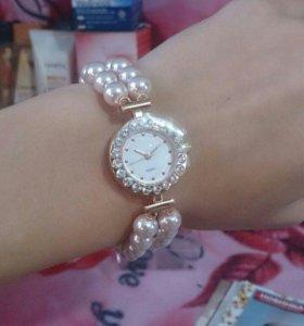 """Часы женские """"Розовый жемчуг"""""""