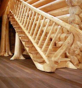 лес материал дрова