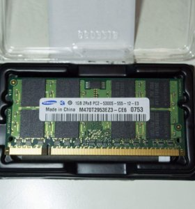 Samsung DDR3 для ноутбука 1 GB