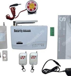 Комплект Gsm Сигнализации для дома, гаража.