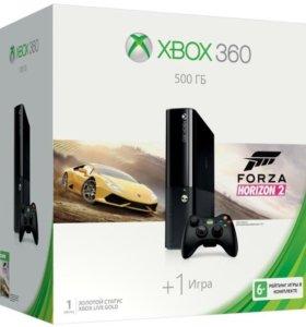 Xbox 360 E. 500gb.FIFA15.WOT.Forza Horizon2.Island