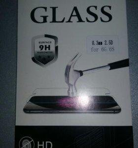 Защитное стекло iPhone6/6S