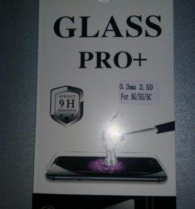 Защитное стекло iPhone5/5S/5C