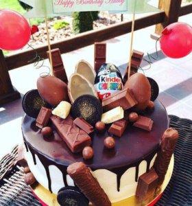 Тортики из конфет на заказ