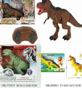 Динозавр на р/у