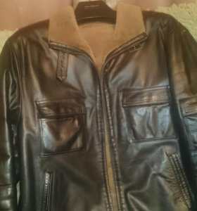 Куртка мужская (натурал. кожа, мех)